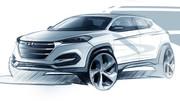 Hyundai Tucson 2015 : une première esquisse pour le remplaçant du ix35