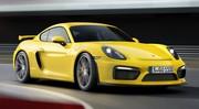 Porsche Cayman GT4 : vidéo et photos officielles