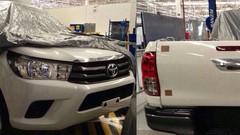 Le futur Toyota Hilux tout nu