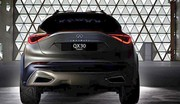 Infiniti QX30 Concept 2015 : 1ère photo du futur crossover