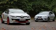 Essai Renault Mégane Trophy R vs Seat Leon Cupra : Pour une poignée de secondes