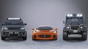 Jaguar : les bolides du 24e James Bond