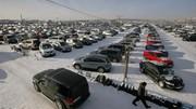 En Russie, les ventes de voitures neuves continuent de s'effondrer