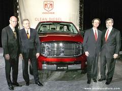 Des félicitations pour le Dodge Bluetec