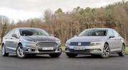 Essai Ford Mondeo 4 VS Volkswagen Passat 8 : duel d'outsiders