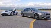 Essai BMW M5 vs BMW i8 : Deux visions du sport selon BMW