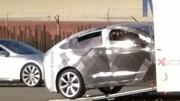 La future Tesla Model X aperçue en essais