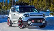 Kia Trail'ster Concept : le 4x4 hybride des sports d'hiver