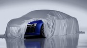 Audi R8 : elle a le regard laser