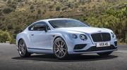 Gamme Bentley Continental GT retouchée