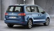 Volkswagen Sharan restylé, nouveaux moteurs