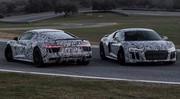 Future Audi R8 : 540 et 610 ch officiels, la Huracan est prévenue