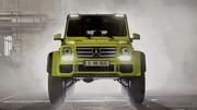 Mercedes présente un G 500 Concept complètement délirant