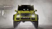 Mercedes G500 4×4² Concept