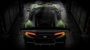 Aston Martin Vulcan, en piste