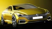 Volkswagen SportCoupé GTE : Clairs desseins