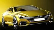 Volkswagen Sport Coupé GTE 2015 : premières esquisses du concept avant Genève !