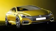 Volkswagen Sport Coupé GTE : le nouveau CC en filigrane