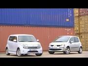 Essai Renault Modus et Daihatsu Materia : Duel de minispaces pas si mini...