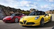 Alfa Romeo 4C : nouveaux tarifs en hausse