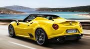 Tarifs Alfa Romeo 4C : les prix du spider et du coupé 2015
