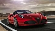 Alfa Romeo 4C Spider : le tarif dévoilé