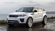 Range Rover Evoque (2015) : léger restylage et nouveau moteur