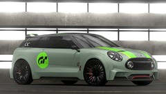 Mini Clubman Vision Gran Turismo : les photos