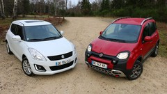 Essai Fiat Panda Cross vs Suzuki Swift 4x4 : Les montagnards sont là