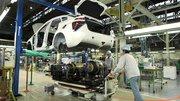 La production de la Toyota Mirai