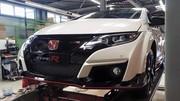Honda Civic Type R : la voici enfin totalement mise à nue !