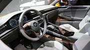 Sport Coupe Concept GTE : la berline hybride et connectée selon VW