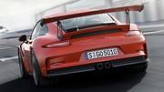Porsche 911 GT3 RS type 991 : Pistarde en fuite