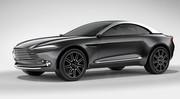 Aston Martin DBX Concept, un crossover électrique atypique