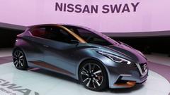 Nissan Sway : Boule de cristal à facettes