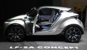 Lexus LF-SA Concept : la Toyota iQ selon Lexus