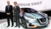 Nissan Sway Concept, la nouvelle Micra se prépare