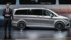 Mercedes Classe V-ision e Concept : l'hybride grand format