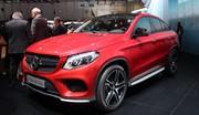 Mercedes GLE : Sus au X6
