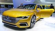 Volkswagen annonce la couleur avec son Sport Coupé Concept GTE