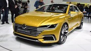 Volkswagen Sport Coupé GTE, la future CC en filigrane