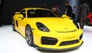Porsche Cayman GT4 : pour la piste