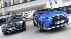Essai BMW X4 xDrive 20d vs Lexus NX 300h AWD : SUV des villes ou SAC des routes ?