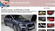 Spécial Salon de Genève 2015