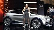 Infiniti QX30, les mêmes armes que Mercedes !