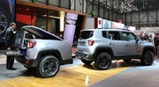 Le Jeep Renegade Hard Steel fait le show