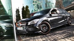Essai Mercedes CLA 45 AMG Shooting Brake : The Show Must Go On