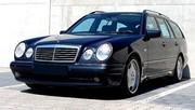 Marche arrière : La Mercedes W210 E55 AMG