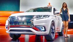 Le nouveau Mitsubishi Outlander 2016 présenté à New York