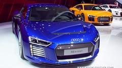 Audi R8 e-tron, première supercar électrique de série